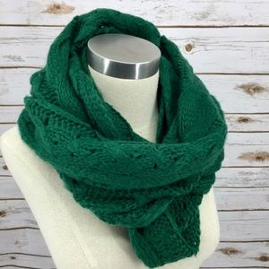 BP Nordstrom infinity scarf chunky cable knit NWT